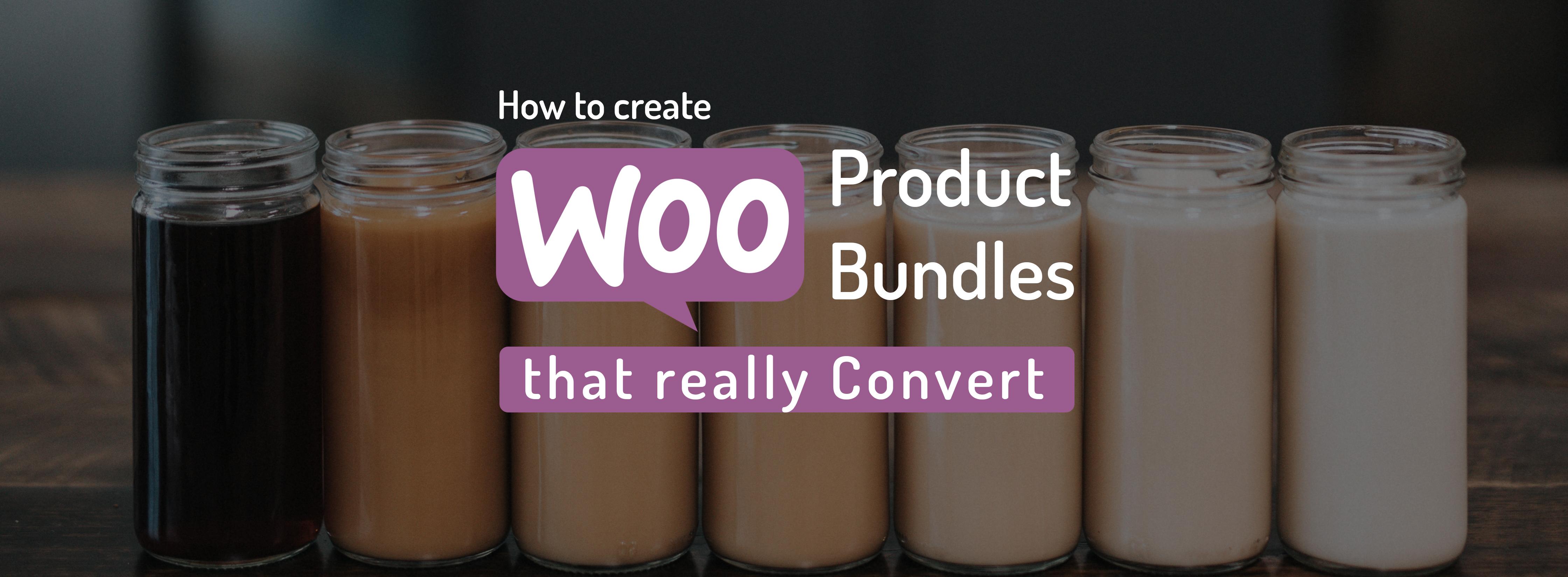 WooCommerce product bundles