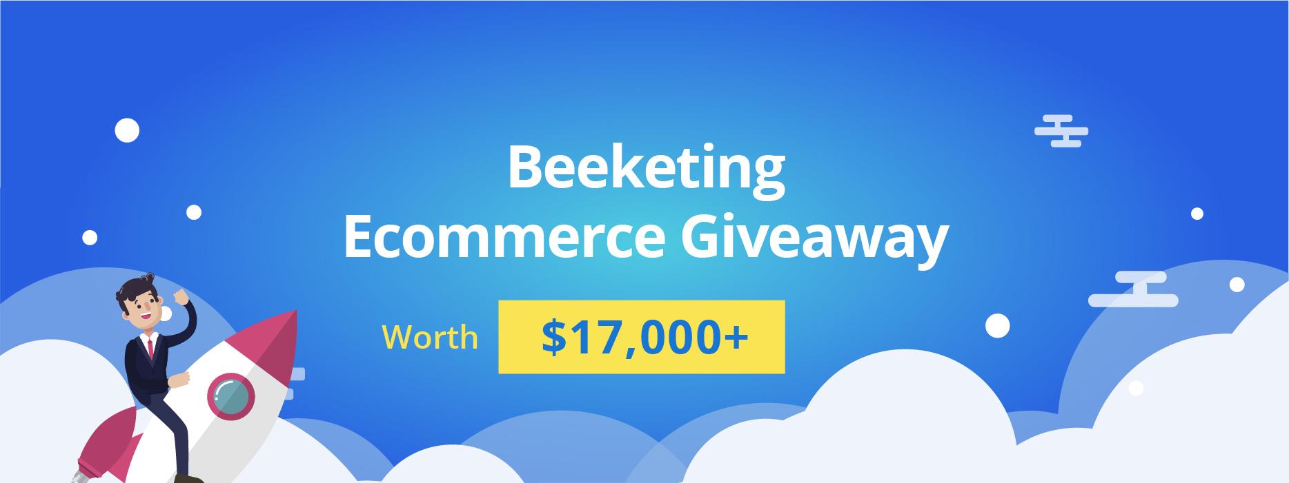 beeketing ecommerce giveaway