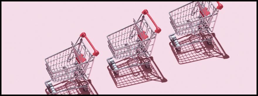 Web push notification for abandoned cart